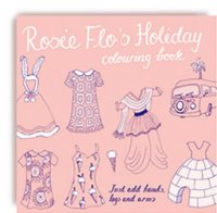Rosie Flos Holiday Colouring Book