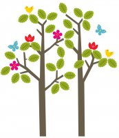Seasons Wall Decals by Wall Candy