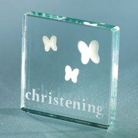 Christening Butterflies Mini Token by Spaceform