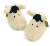 shaggy sheep soft baby shoes