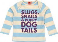 Slugs and Snails T-shirt from No Added Sugar