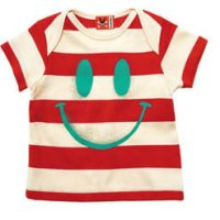 Smiley Baby T-Shirt from No Added Sugar