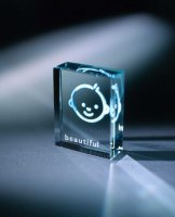 Beautiful Glass Token by Spaceform