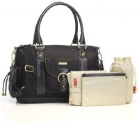 Storksak Alison Changing Bag in Black