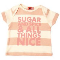 Sugar and Spice Baby T-Shirt from No Added Sugar