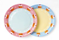 Pack of 8 Time For Tea Paper Plates