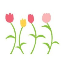 Tulips Wall Decals from Wall Candy