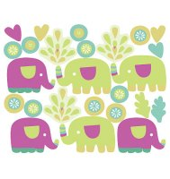 Baby Elephants Wall Decals from Wallies
