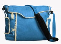 Wallaboo Baby Changing Bag in Blue