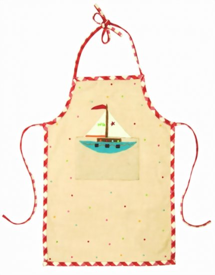 Win Green Boat Apron - Click Image to Close