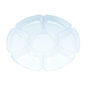 Chip & Dip Tray in Clear