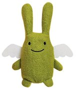 Large Angel Rabbit (Ange Lapin) in Green From Trousselier
