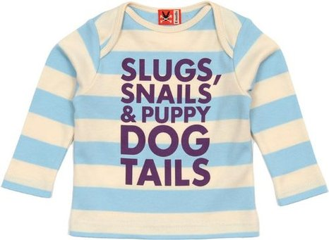 Slugs & Snails T-Shirt from No Added Sugar