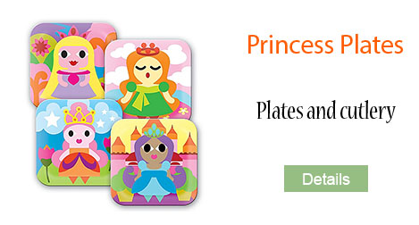 Childrens cutlery and plates