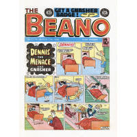 Beano Wall Canvas - Breakfast in Bed