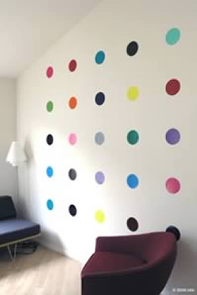 Dots Wall Decal Stickers from Blik