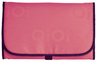 OiOi Compact Changing Mat - Coral Pink Jacqaurd