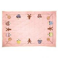 Gingerbread Cottage Playhouse Floor Quilt from Win Green