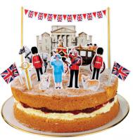 Jubilee Cake Toppers