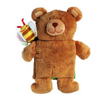 Bear Cuddle Book from Lilluputiens - Click Image to Close
