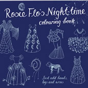 Rosie Flos Night-Time Colouring Book