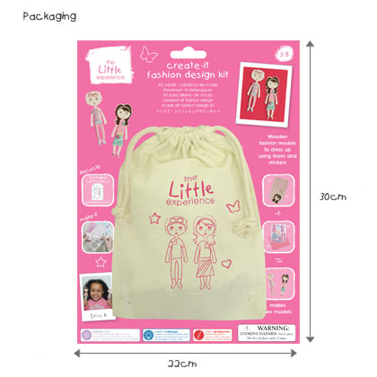 Mini Make-It Kit: Create-It Fashion Design Kit - Click Image to Close