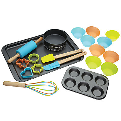 Miniamo Childs 20 Piece Deluxe Baking Set in Brights