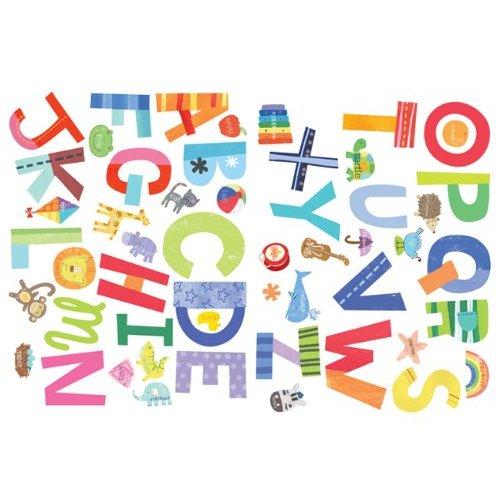 alphabet fun wall stickers from wallies 3666 163 8 75 girls just wan na have fun pared citar pegatina pared arte